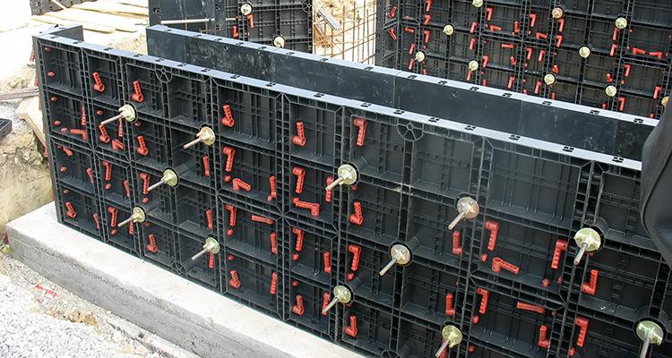Опалубка для бетона купить в шары бетона